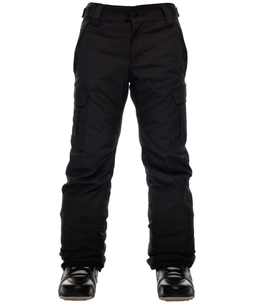Boy's 686 All Terrain Insulated Snowboard Pants - Black