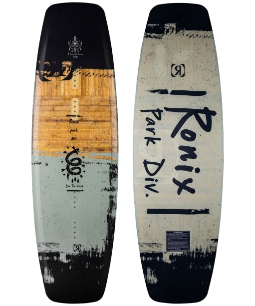 Ronix Wakeboard Top Notch - Black / Blue / Brown