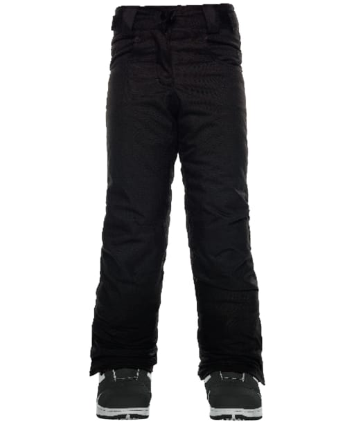 Girl's 686 Elsa Insulated Snowboard Pants - Black