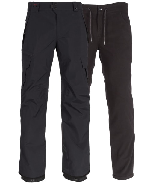 Men's 686 Smarty 3-in-1 Cargo Snowboard Pant - Black