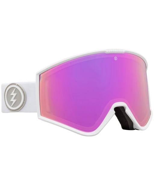 Electric Kleveland Snowboard Ski Goggles - Matte White Brose