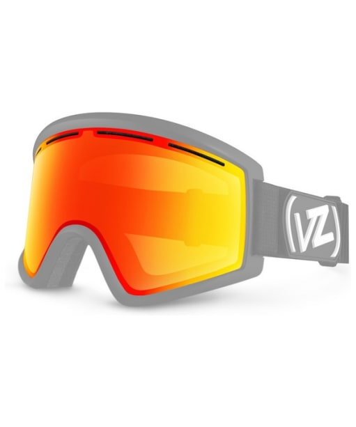 VonZipper Cleaver Spare Replacement Goggles Lens - Fire Chrome