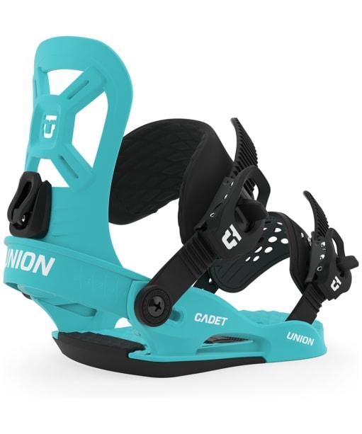 Union Cadet Youth Snowboard Bindings - Blue