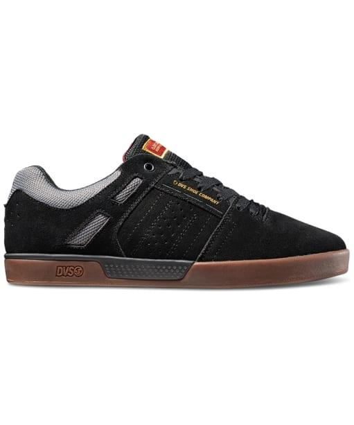 Men's DVS Getz+ Skate Shoes - Black Gum Suede