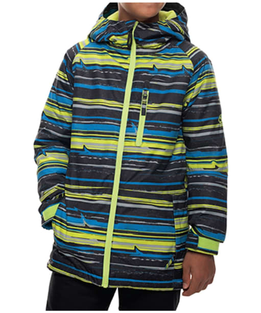 Boy's 686 Snowboard Jinx Jacket - Blue