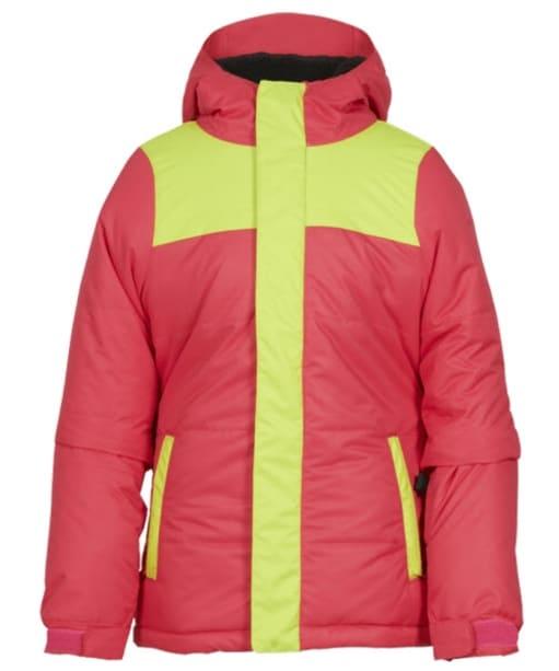 Girl's 686 Ella Snowboard Ski Jacket - Fuchsia