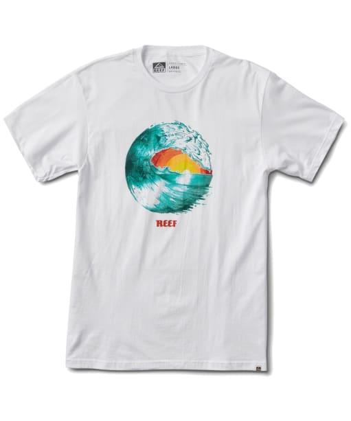 Men's Reef Color T-Shirt - White