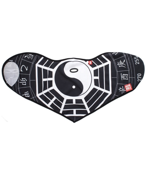 Airhole Graphic Facemask - Ying Yang