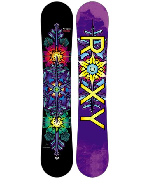Women's Roxy Radiance Snowboard 148cm - Multi