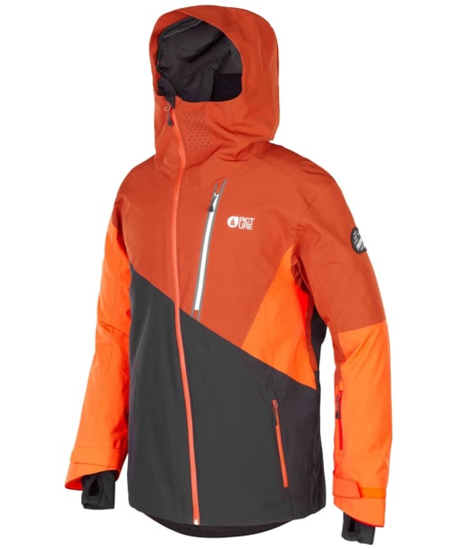 Men's Picture Alpin Snowboard Jacket - Black Brick