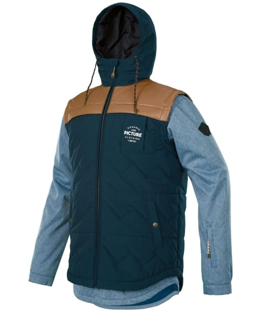 Men's Picture Crispin Ridingo Snowboard Jacket - Denim