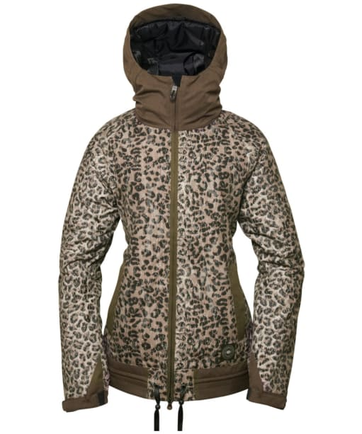 Women's 686 Authentic Lynx Snowboard Ski Jacket - Leopard