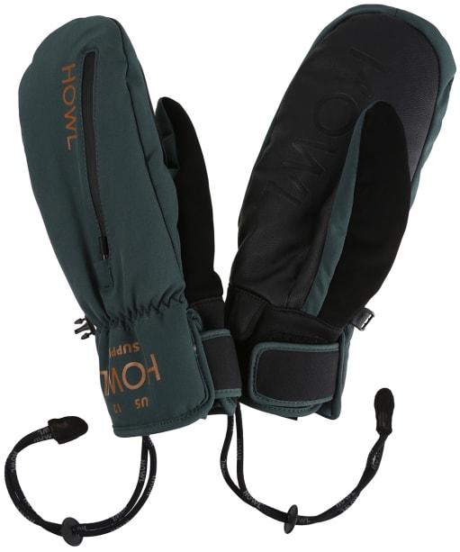 Howl Pocket Ski/Snowboard Mitt - Deep Moss