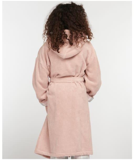 Girl's Barbour Elsie Dressing Gown - Light Pink