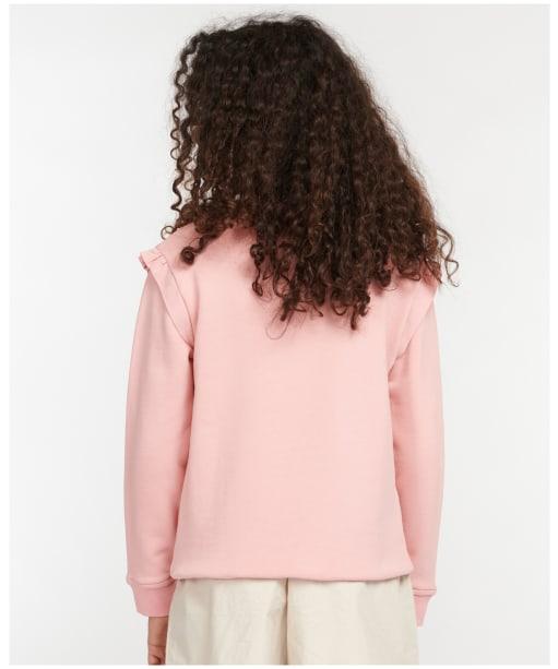 Girl's Barbour Otterburn Frill Overlayer – 6-9yrs - Secret Pink