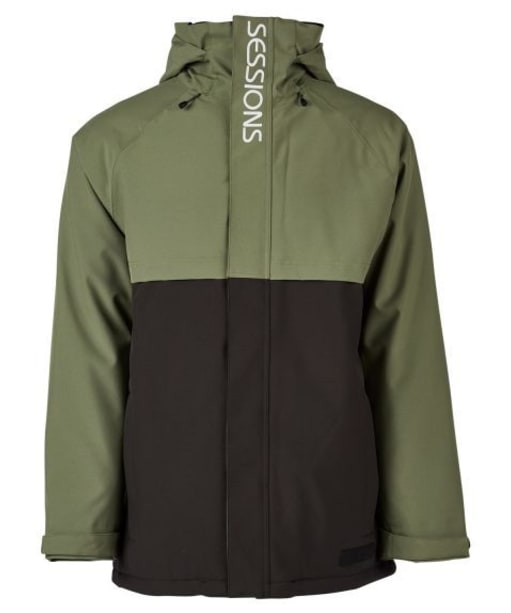 Men's Sessions Podium Snowboard Jacket - Olive