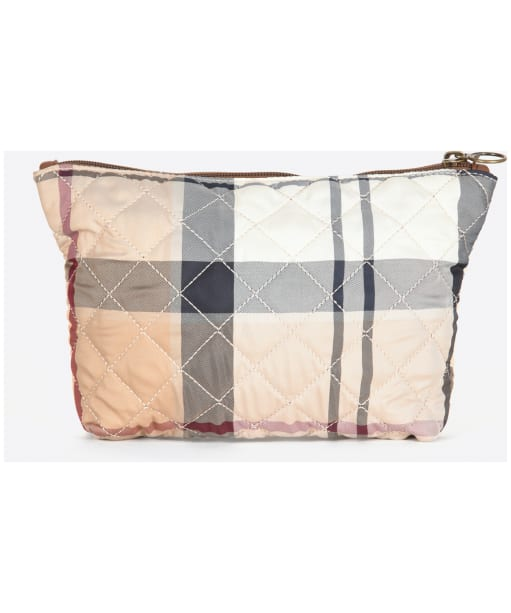 Women's Barbour Quilted Washbag - Hessian