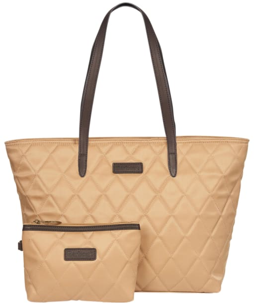 Women's Barbour Witford Quilted Tote Bag - Hessian