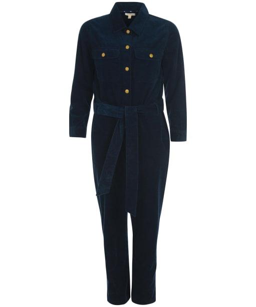Women's Barbour Cheswick Jumpsuit - Navy