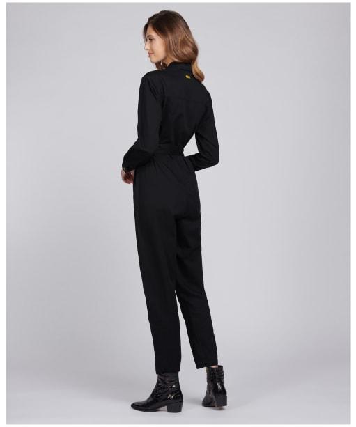 Women's Barbour International Solitude Jumpsuit - Black