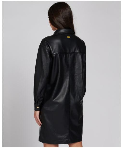 Women's Barbour International Picard Dress - Black