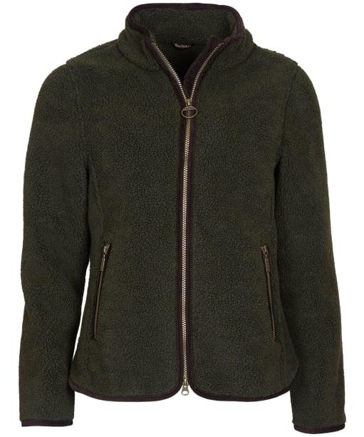 Women's Barbour Lavenham Fleece Jacket - Olive