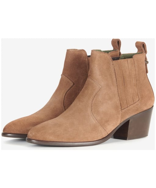 Women's Barbour Matilde Chelsea Boots - Tobacco Suede