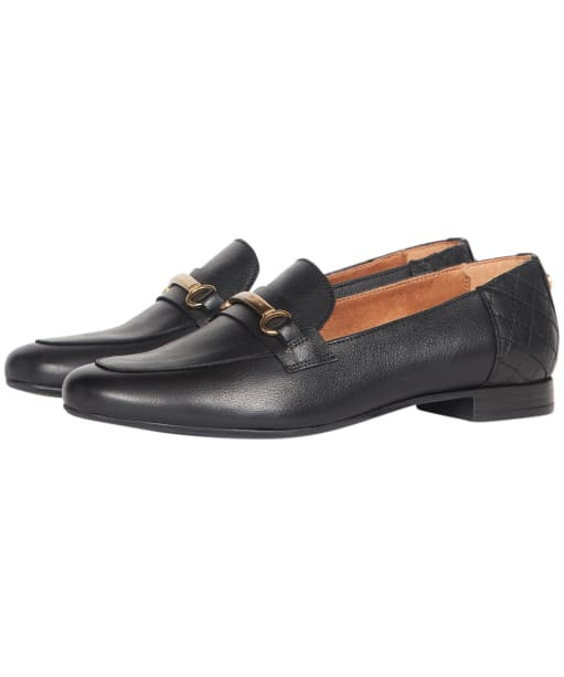 Women's Barbour Ashley Loafers - Black