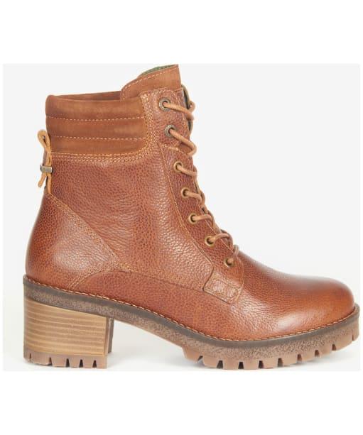 Women's Barbour Stark Ankle Boots - Cognac