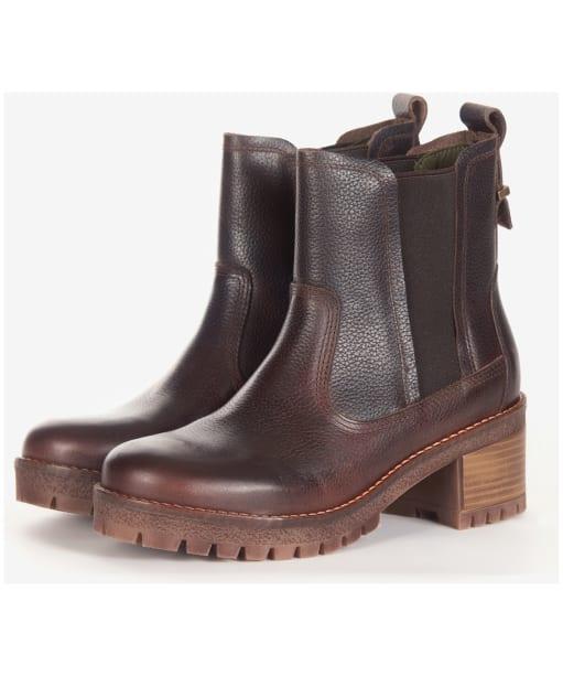 Women's Barbour Kirk Chelsea Boot - Brown