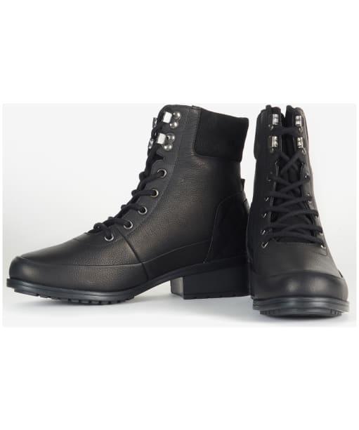 Women's Barbour Grassmoor Boots - Black