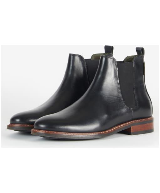 Foxton Chelsea Boot                           - Black