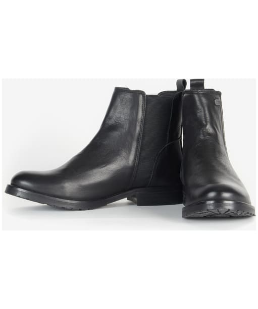 Women's Barbour International Mendoza Boots - Black
