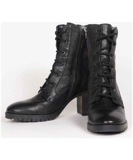 Women's Barbour International Santina Boots - Black