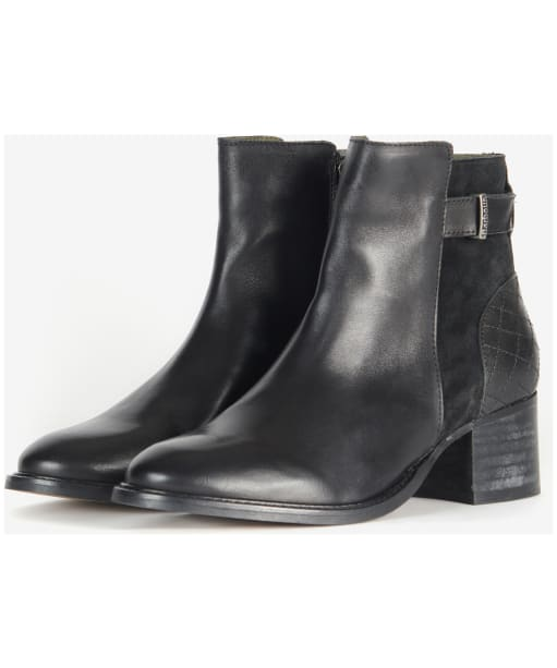 Janice Ankle Boot                             - Black