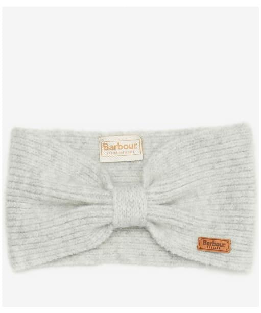 Women's Barbour Foxton Headband & Mitt Set - Light Grey