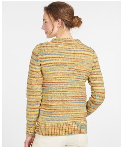 Women's Barbour Burford Knit - Yellow Multi