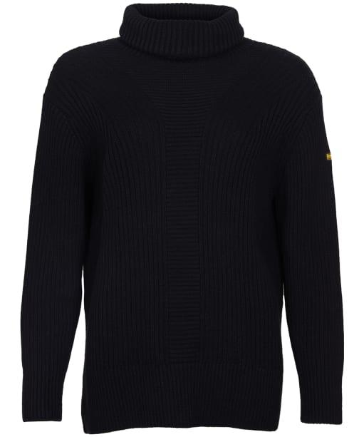 Women's Barbour International Clypse Knit Sweater - Black