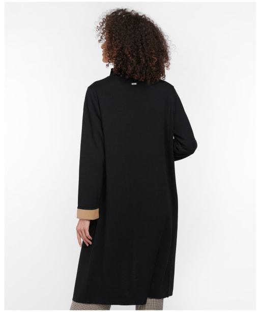 Women's Barbour Montrose Coatigan - Black