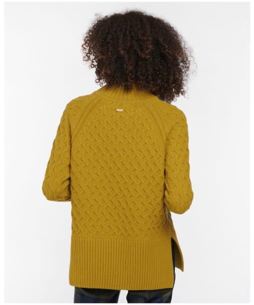 Women's Barbour Dovecot Knit - Chartreuse