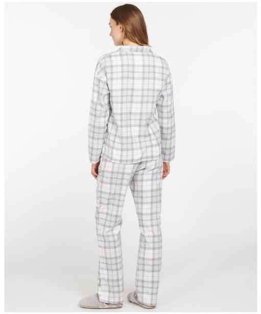 Women's Barbour Ellery PJ Set - Light Grey Marl