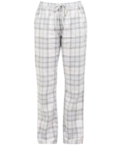 Women's Barbour Nancy PJ Trousers - Light Grey Marl