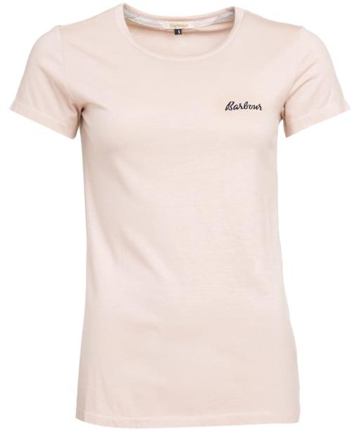 Women's Barbour Edie T-Shirt - Light Pink