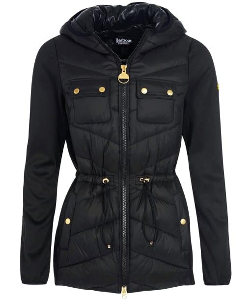 Women's Barbour International Cookstown Sweater Jacket - Black
