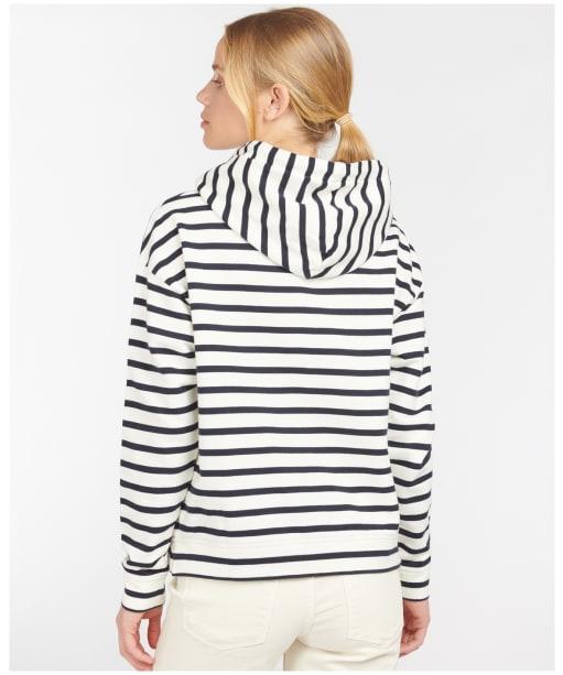 Women's Barbour Birling Overlayer - Cloud Stripe