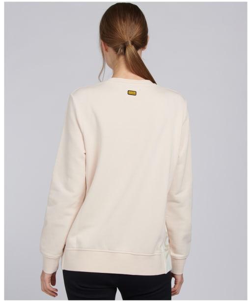 Women's Barbour International Hallstatt Sweatshirt - Champagne