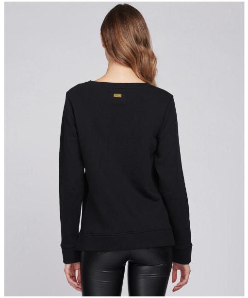 Women's Barbour International Picton Sweatshirt - Black