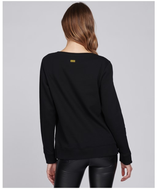 Women's Barbour International Chicane Sweatshirt - Black