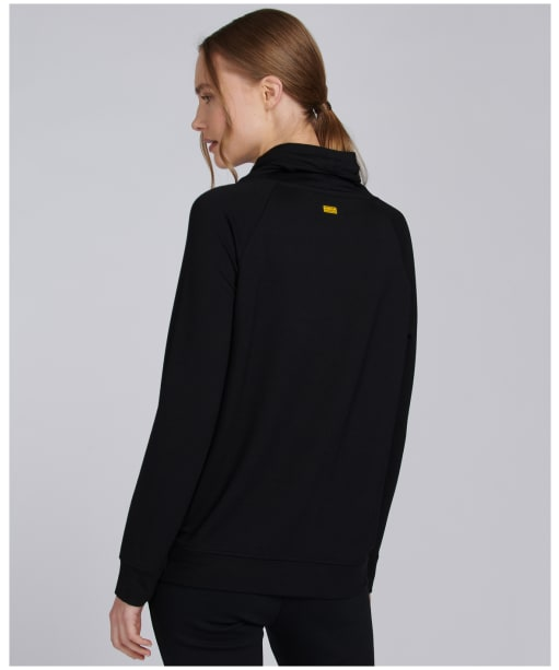 Women's Barbour International Clypse Overlayer - Black