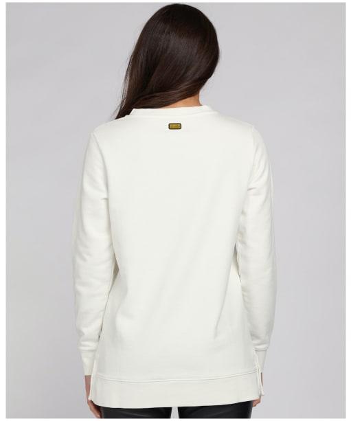 Women's Barbour International Charade Sweatshirt - Frost